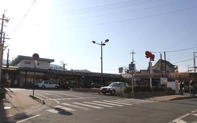 JR膳所駅・京阪膳所駅です